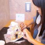 ペッパー クリスマスお菓子の家を作ろうイベント
