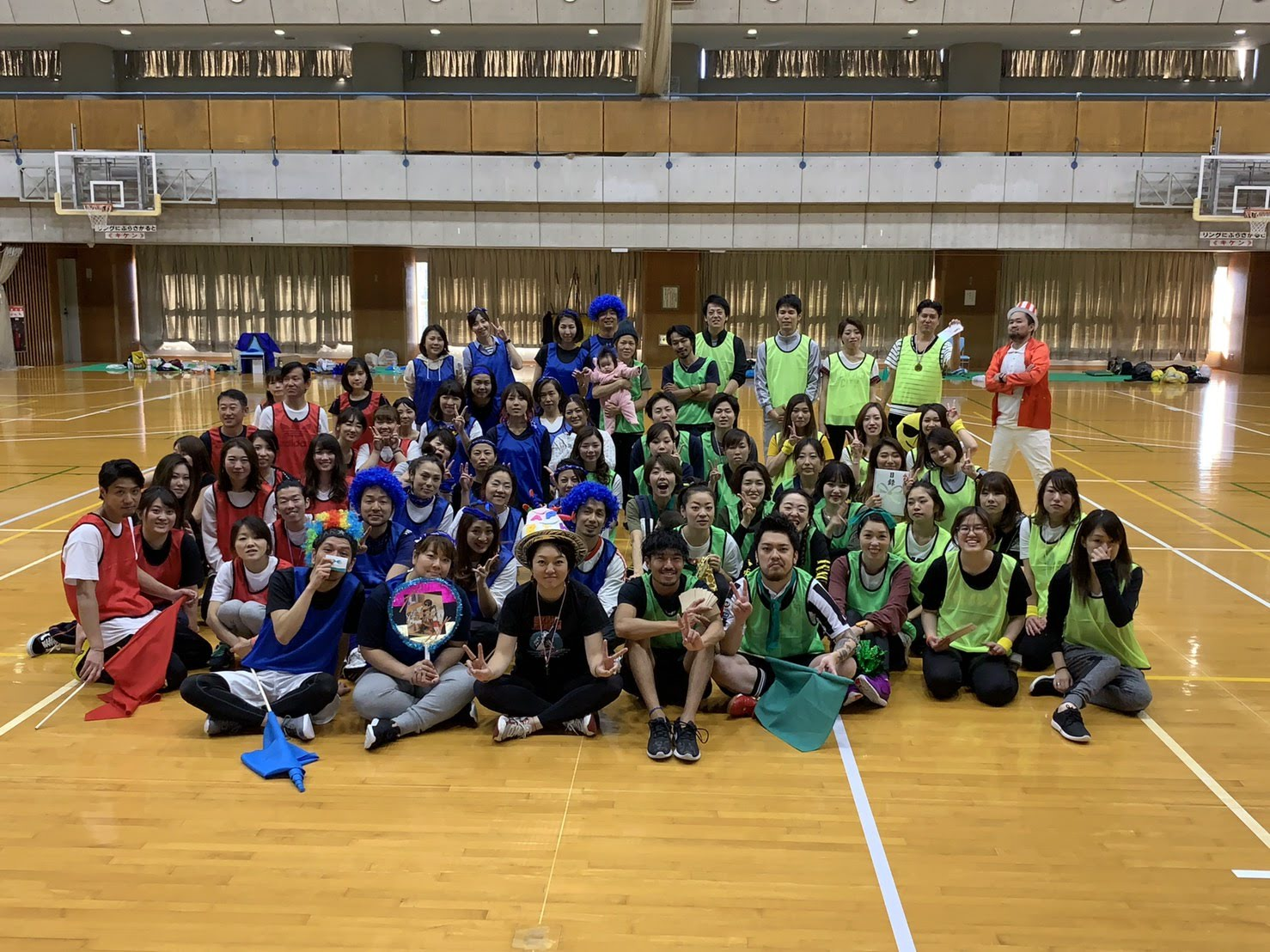 5周年記念大運動会
